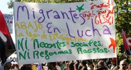 <em>Marcha por la dignidad de las personas migrantes</em>