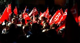 Los principales sindicatos ven la huelga general necesaria pero lejana