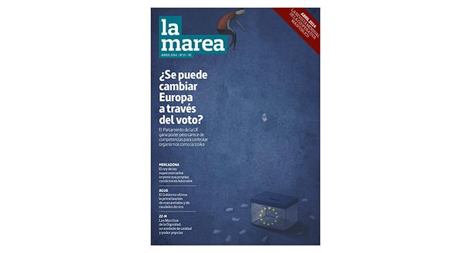 Ya a la venta el nº 15 de La Marea: ¿Se puede cambiar Europa a través del voto?
