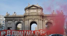 Un Madrid para los jóvenes y no para los intereses de las grandes empresas