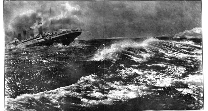 El Hundimiento del Titanic en la prensa española de 1912