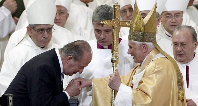 El Rey emérito y el Papa emérito