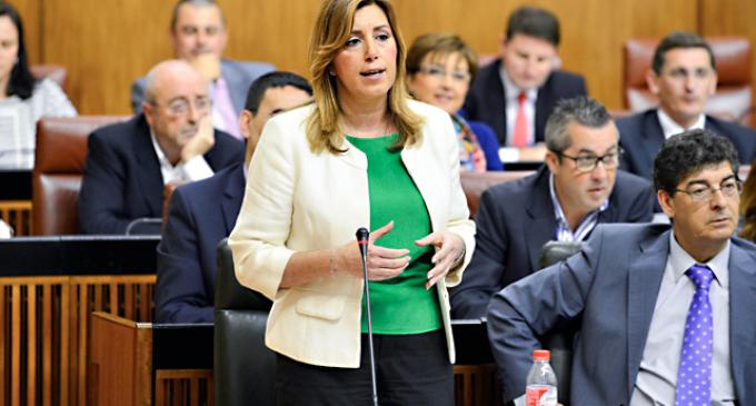 """Susana Díaz:  """"No ha habido un malentendido, sino un giro radical en IU"""""""