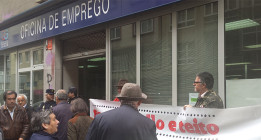 Las protestas del 22M se trasladan a las oficinas de empleo