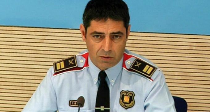 El comisario jefe de los Mossos pide perdón