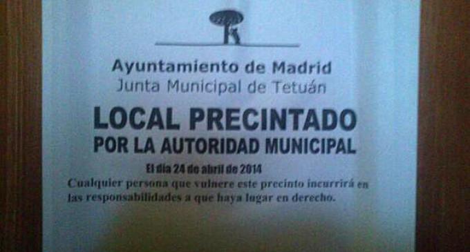 El Ayuntamiento de Madrid cierra el banco de alimentos de Tetuán