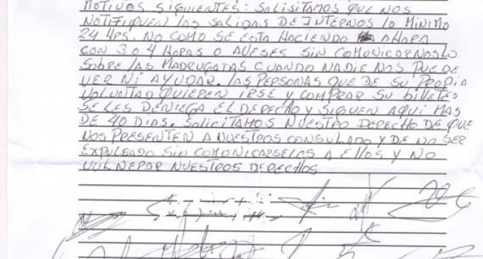 """Gary, interno en Valencia: """"La policía del CIE actúa de juez y de verdugo"""""""