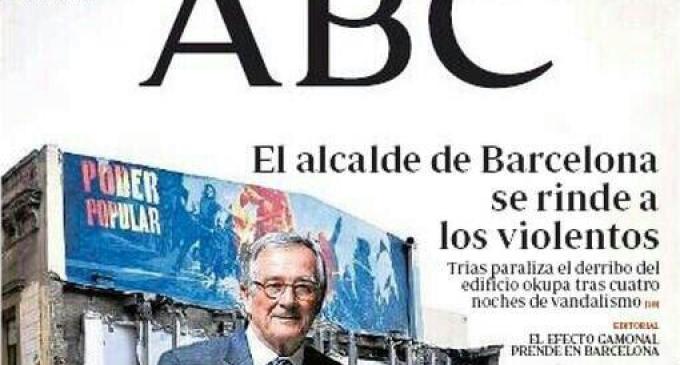 Las portadas de ABC, de Gamonal a Can Vies