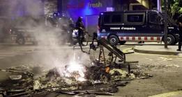 El desalojo de Can Vies incendia Sants y la protesta salta a otros barrios y ciudades