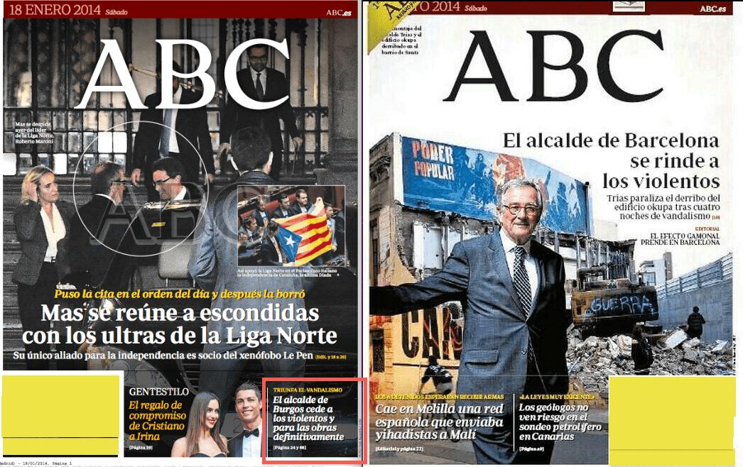 Portadas ABC Gamonal Can Vies