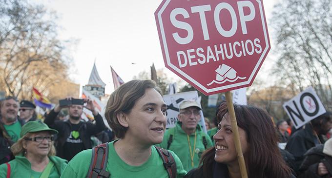 Ada Colau impulsa una nueva candidatura de izquierdas a la alcaldía de Barcelona