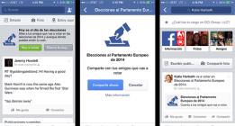 Facebook usará un señuelo para que los abstencionistas voten en las europeas