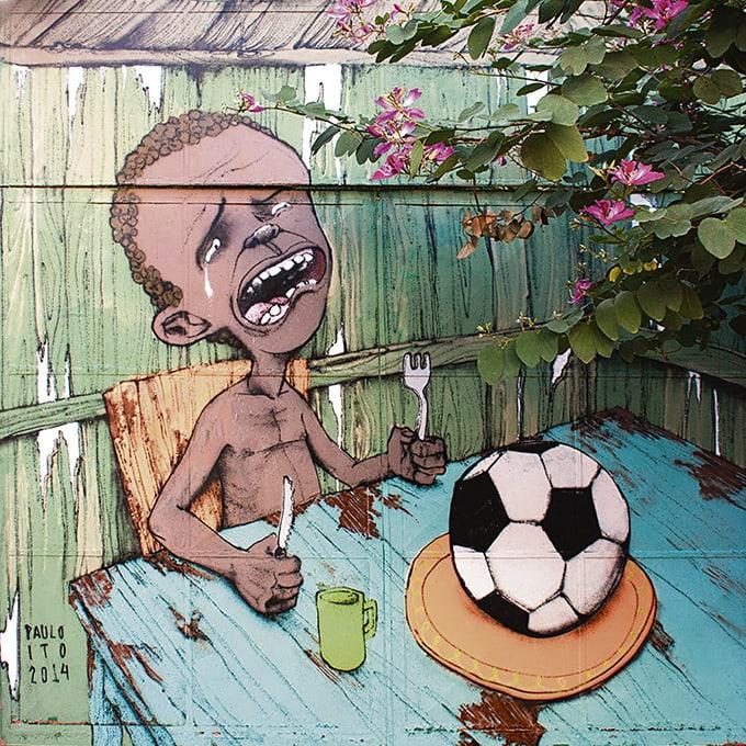 Mural brazil