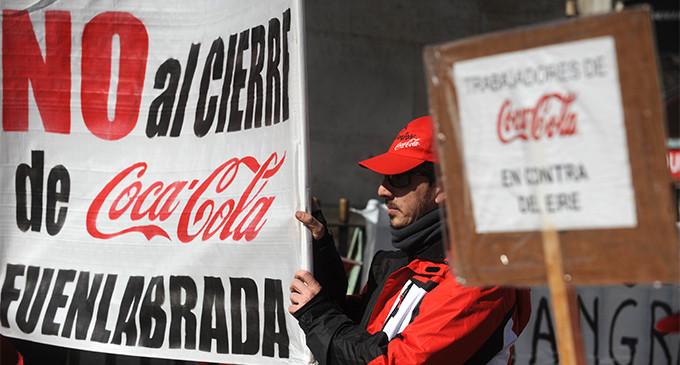 La Audiencia Nacional declara nulo el ERE de Coca-Cola