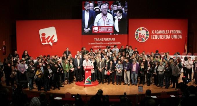 Cinco dirigentes territoriales de IU lanzan una campaña para renovar la dirección