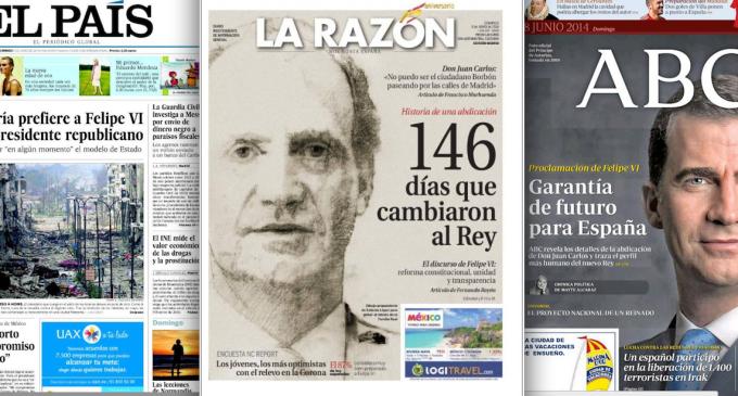 <em>La prensa tradicional, sierva de la monarquía</em>