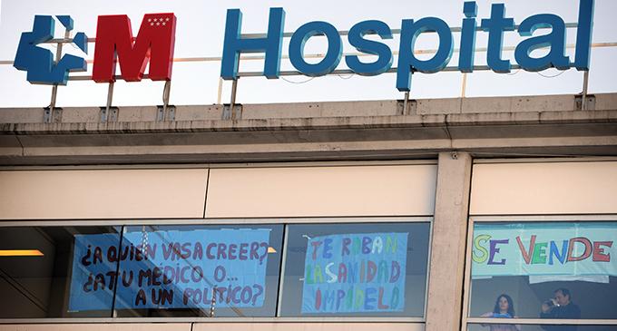 El maquillaje del Infanta Leonor para justificar la privatización de hospitales