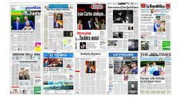 La prensa internacional vincula la abdicación del rey con la caída de su popularidad