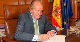 """Juan Carlos I: """"El príncipe encarna la estabilidad"""""""