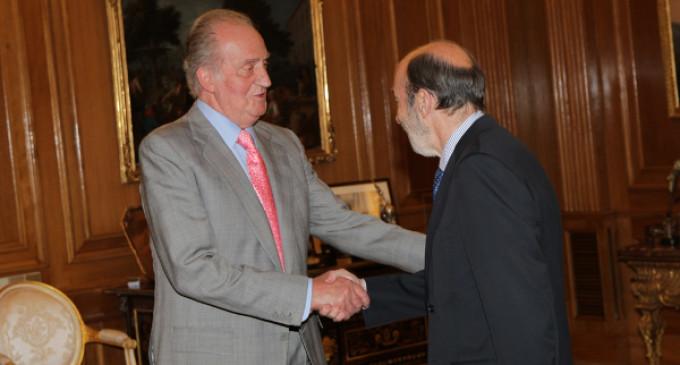 El PSOE cierra filas con la monarquía