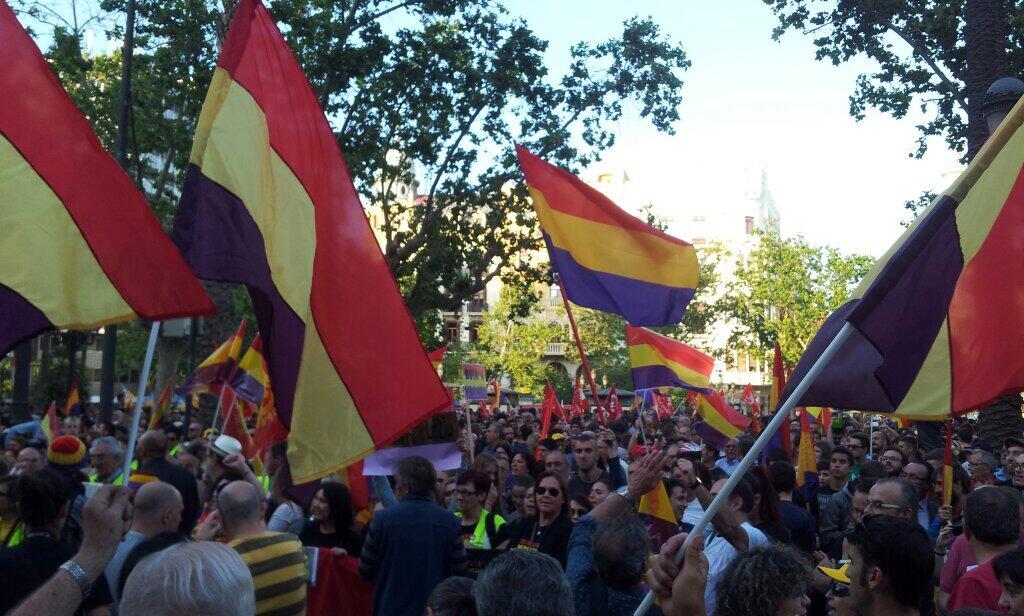 Manifestación en Valencia @giuseppegrezzi