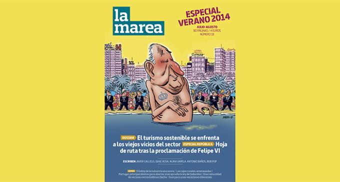 Turismo y republicanismo en el especial de verano de 'La Marea'