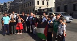 """Políticos, organizaciones y ciudadanos contra el """"genocidio"""" del pueblo palestino"""