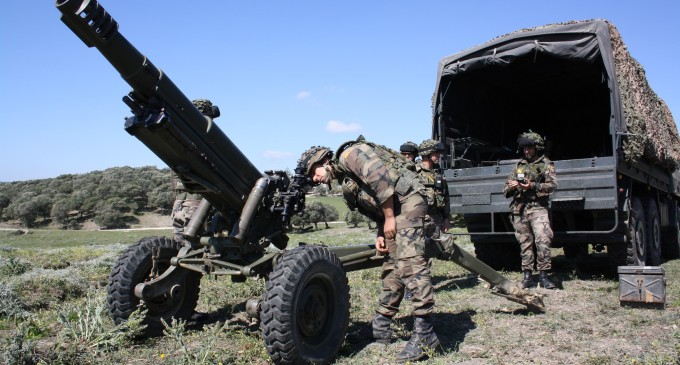 Barbate, contra el macro despliegue militar de la OTAN del próximo otoño