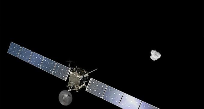 'Rosetta' alcanza el cortejo definitivo de su cometa