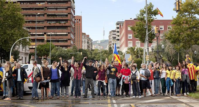 Las luchas sociales se integran en la 'V' que recorrerá hoy Barcelona