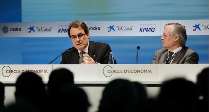 Los lazos de Artur Mas con las multinacionales obstaculizan el escenario de la desobediencia
