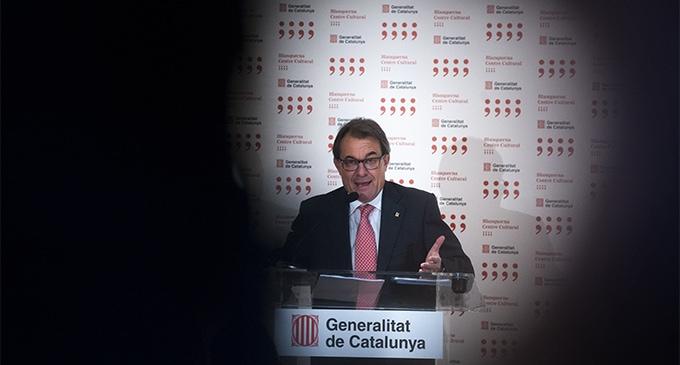 El expresidente de la Generalitat, Artur Mas. I La Marea