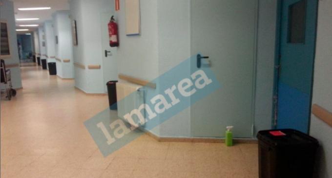 El Hospital Carlos III reduce la protección del personal sanitario en la quinta planta