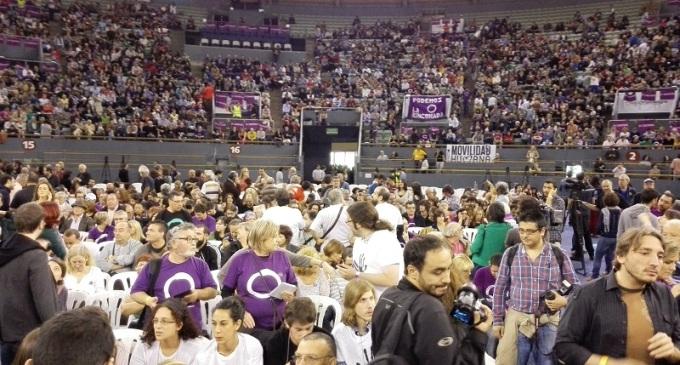 IU, PSOE y la gente joven, principales caladeros de votos de Podemos
