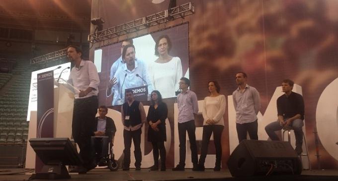 Una encuesta de Podemos les da empate en intención de voto con PSOE y C's
