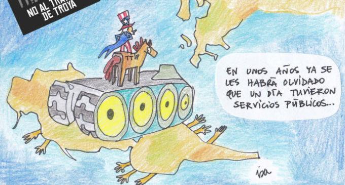 Las peores consecuencias del TTIP, explicadas con viñetas