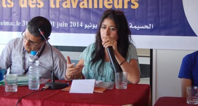 El juez eleva a dos años la pena de cárcel para la activista marroquí Wafa Charaf