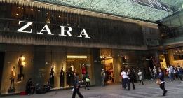 Etiquetas-protesta contra la explotación de una subcontrata de Zara en Turquía