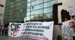 Tres días de encierro contra el CIE de Valencia