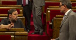 Mas y Junqueras, juntos el 27-S detrás de una figura independiente