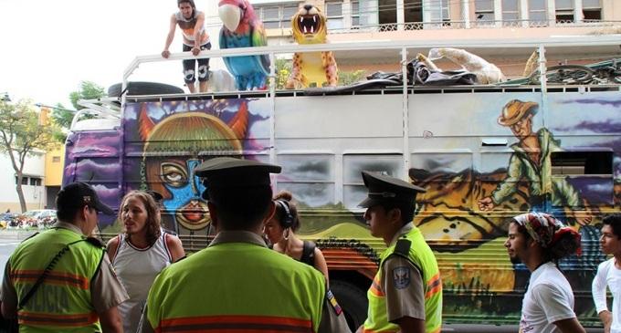 La policía ecuatoriana acosa a ecologistas rumbo a la Cumbre Climática Mundial