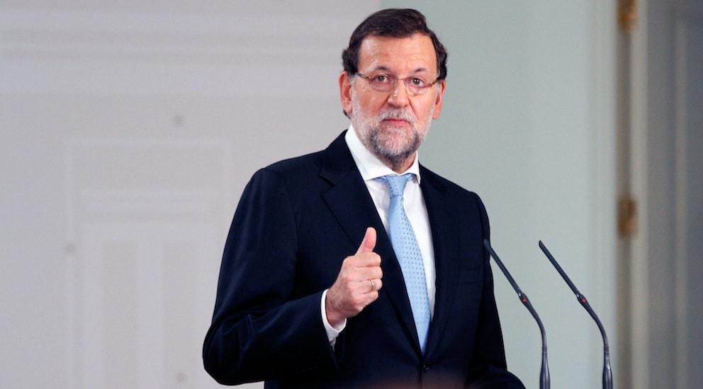 El presidente del Gobierno, Mariano Rajoy | La Marea