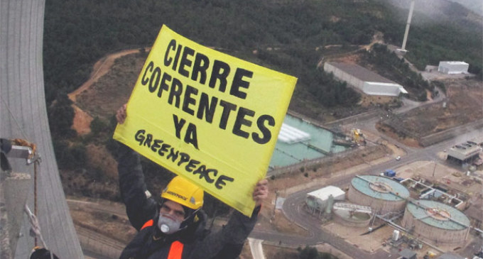 Greenpeace y el activismo: el riesgo de mojarse