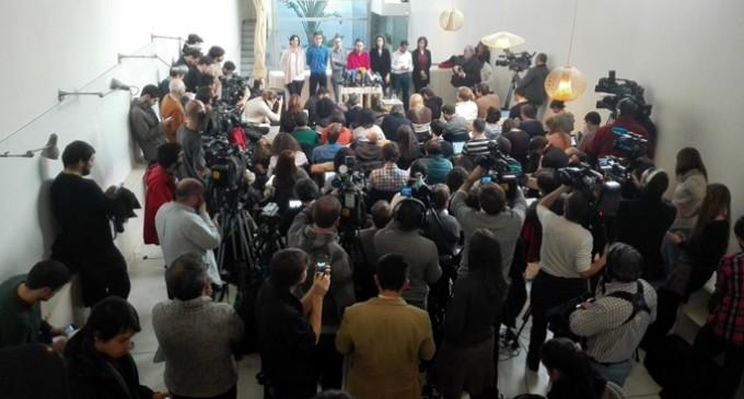 """Iglesias proclama el """"fracaso"""" de la austeridad tras la victoria de Syriza"""