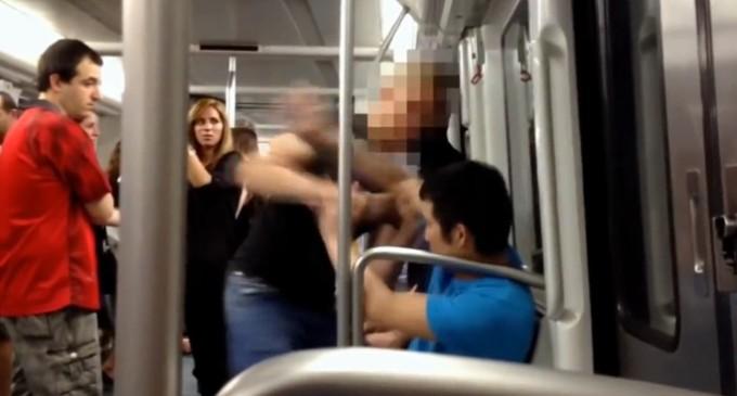 El fiscal pide tres años de cárcel por la agresión neonazi en el metro de Barcelona