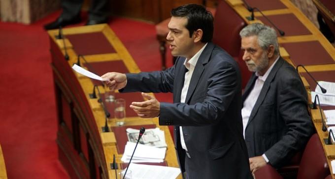 El Parlamento griego vota sobre el rescate en mitad de una jornada de huelga