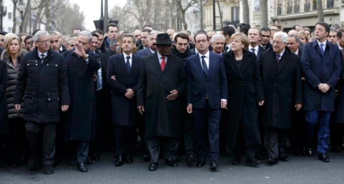 Jefes de Estado que han coartado la libertad de expresión, con 'Charlie Hebdo'