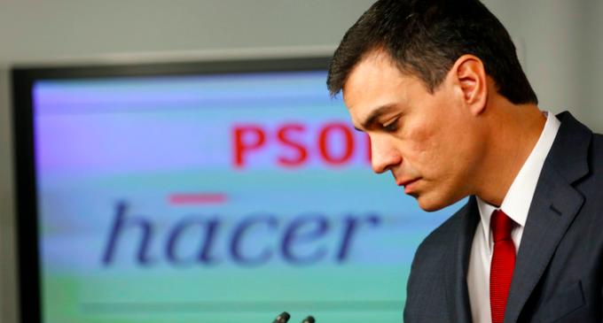 Un PSOE a la deriva y con escaso peso electoral
