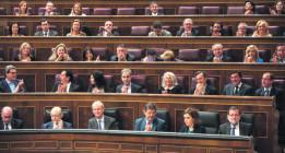 Un total de 163 diputados repiten en las listas de las elecciones generales 2015