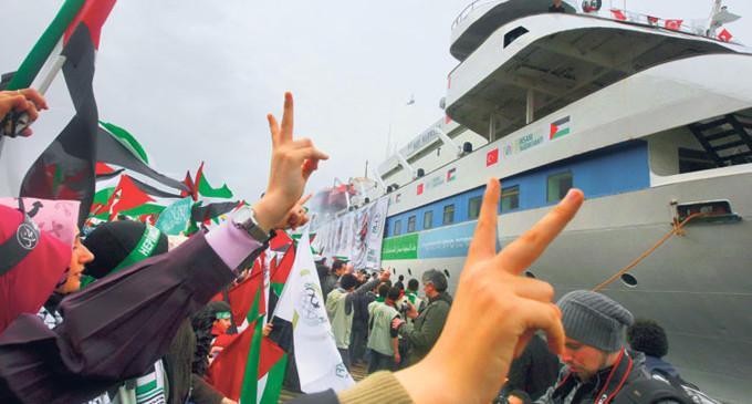 La Flotilla de la Libertad volverá a poner rumbo a Gaza